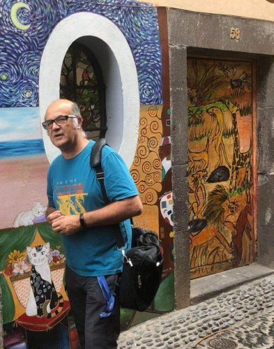 artE de pORtas abErtas -Interview with Jose Zyberchema who run that project since 2010