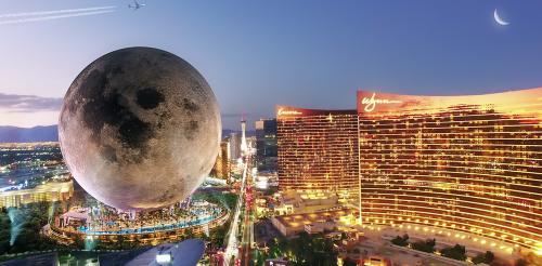 Developers plan Moon-shaped 735ft-high Las Vegas resort