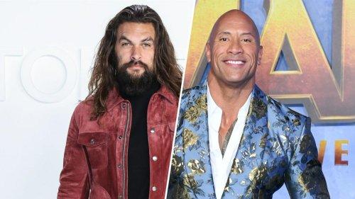 """""""Aquaman"""" Jason Momoa überrascht Dwayne Johnsons Tochter Tiana"""