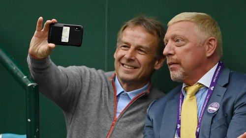 "Boris Becker bringt ""alten Freund"" Jürgen Klinsmann mit nach Wimbledon"