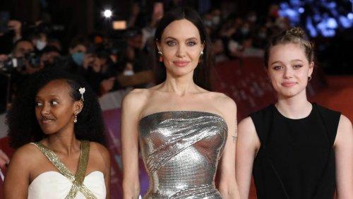 """Angelina Jolie mit Zahara und Shiloh bei """"Eternals""""-Premiere in Rom"""