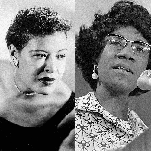 Throughline: Billie Holiday and Shirley Chisholm | Specials | WNYC