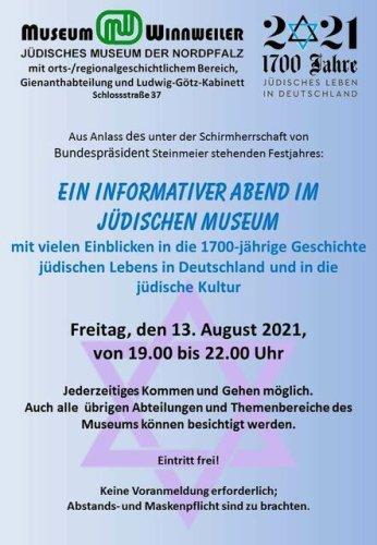 """Veranstaltung zum Festjahr """"1700 Jahre jüdisches Leben in Deutschland"""""""