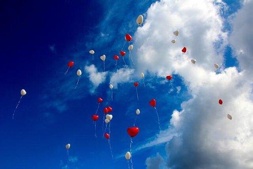 Gefahr für die Luftfahrt durch Kinderballone