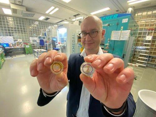 Neue Münze aus Karlsruhe