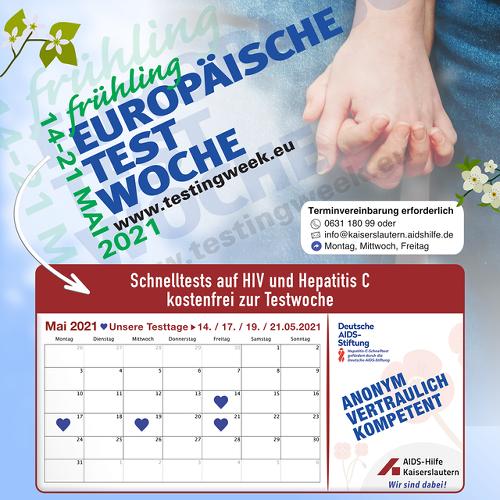 Europäische Testwoche 2021 (European Testing Week)