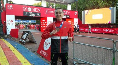 Jonas Müller in Bestzeit 4. Deutscher beim London-Marathon