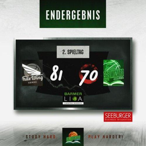 Die Negativserie hält an – Auch gegen Hanau verlieren Wizards am Ende die Konzentration