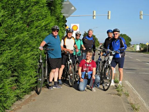 Radfahren für das Sportabzeichen beim TSV Iggelheim