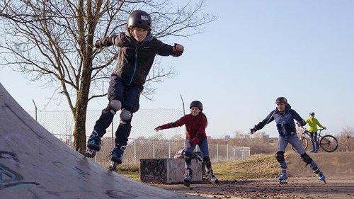 Skate-Cross Schnuppertraining