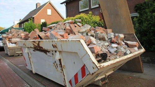Bauschutt entsorgen: Kosten & was ihr bei der Bauschuttentsorgung beachten müsst