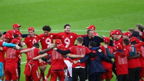 """Flick begießt Abschiedstitel - Bayern """"wahre Nummer 1"""""""
