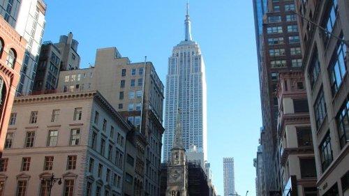 New York: Auch Empire State Building wird Impfzentrum