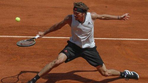 Tennisprofi Zverev erreicht Viertelfinale in Rom