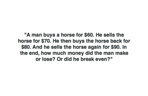 This Seemingly Simple Riddle Has Everyone on the Internet Scratching Their Head