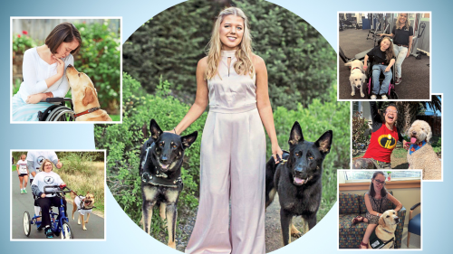 This Hero Teen Started a Charity to Get Service Dogs For Those in Need