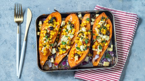 Make Roasted Sweet Potatoes Taste Even Better With This Simple Pre-Baking Step