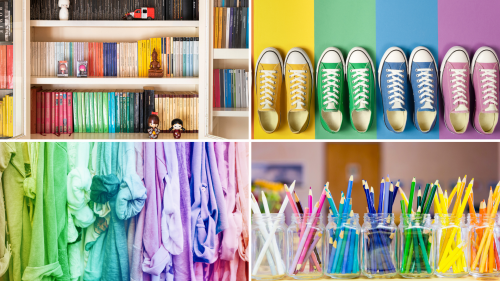 5 Ways You Can Use Color To Organize and Brighten Your Home