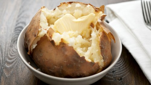 How to Make a Baked Potato in an Air Fryer So It's Perfectly Crispy and Fluffy