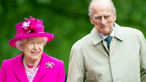 Queen Elizabeth Wore a Subtle Tribute to Prince Philip In Her First Appearance After His Funeral