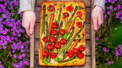 This Easy and Delicious Bread Recipe Is a Creative Way to Use Leftover Veggies