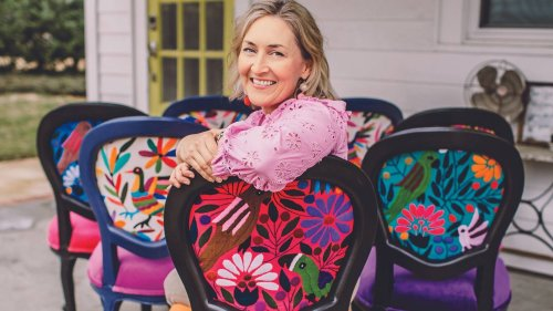 How One Woman Makes Up to $14,000 a Month Refurbishing Chairs
