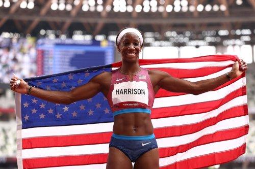 Keni Harrison Wins Silver in Women's 100m Hurdles at Tokyo Olympics