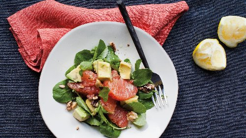 We Can't Stop Making This Fresh Grapefruit and Avocado Salad