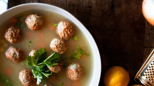 Try This Gingery Chicken Meatball Soup Next Time You're Under the Weather