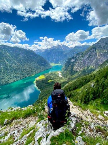 Wanderung am Rinnkendlsteig im Berchtesgadener Land