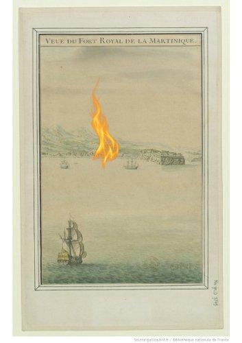 1766, une année d'aléas pour la Martinique #1/3 l'incendie de Fort-Royal en mai