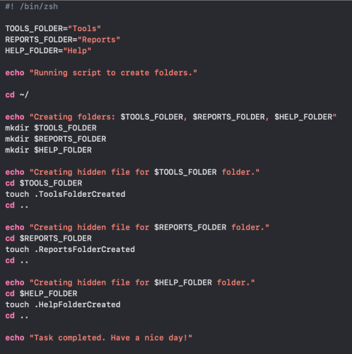 Shell scripting in macOS – Part 2: Managing information