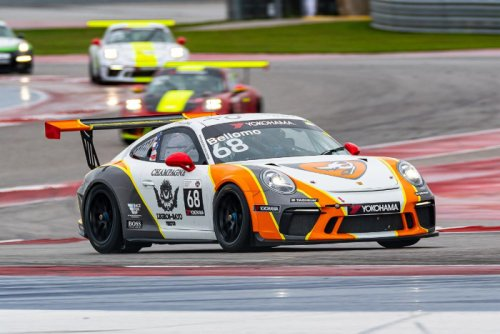 Flying Lizard Returns to Road America for Porsche Carrera Cup North America