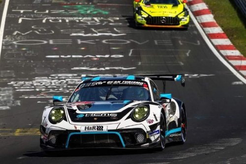 Edoardo Liberati Secures Top-Ten Finish In The 24H Nürburgring Qualification Race