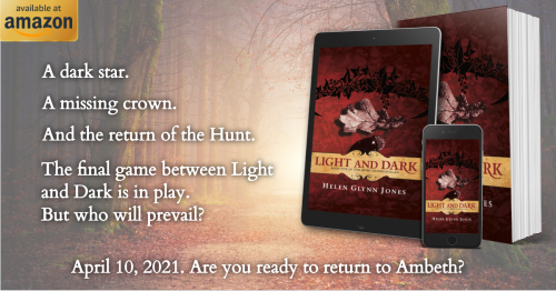 *LAUNCH DAY* Light and Dark, Book Five of The Ambeth Chronicles