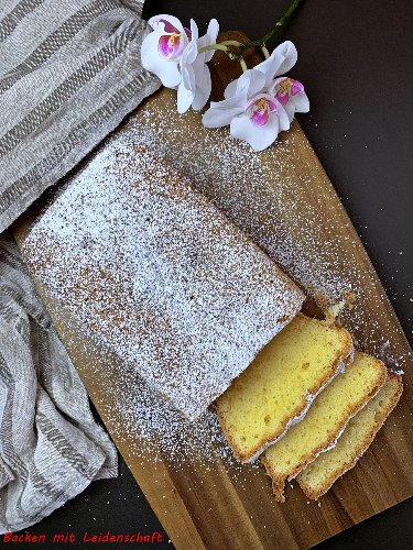 Madeirakuchen…einfacher Kuchen ohne Alkohol