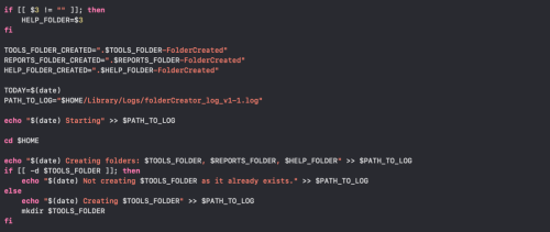Shell scripting in macOS – Part 3 Condition checks