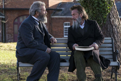 """Netflixable? Gibson and Penn, """"The Professor and the Madman"""""""