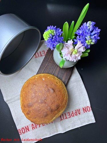 Trampolin-Brot…Brot aus der Form