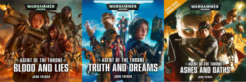 Agents of the Throne – A Warhammer 40,000 Audiodrama – Review