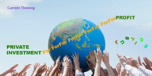 Globalizing without Globalization