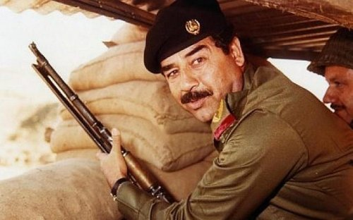 Saddam Hussein had a gold-plated jewel-encrusted personal Spitfire aircraft and you can buy it
