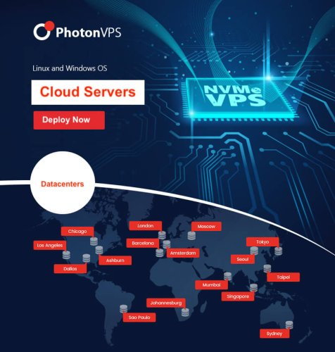 50% off PhotonVPS VPS hosting coupon for May 2021