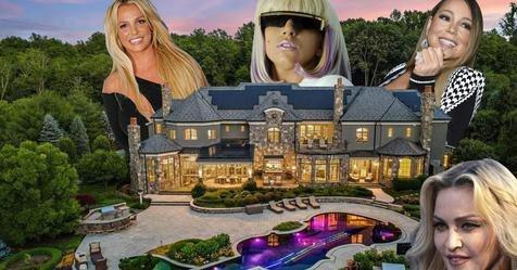 World's Richest Pop Stars Have Pretty Nice Homes