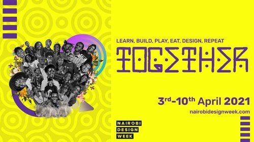 Nairobi Design Week 2021 will be held between April 3-10 online