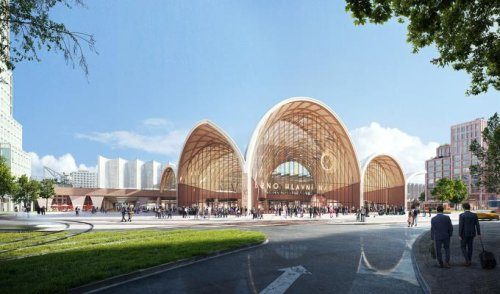 Benthem Crouwel Architects and West 8 win competition for new multimodal Brno main station