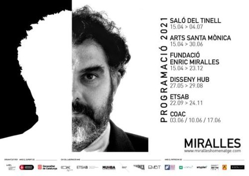 MIRALLES, tribute to architect Enric Miralles: A program of events during 2021 in Barcelona