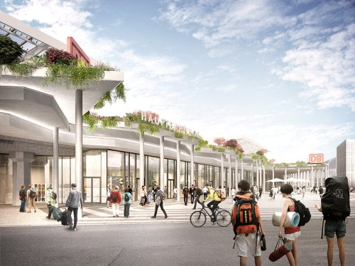 J. Mayer H. wins competition to design new façade of Cologne Main Station on Breslauer Platz