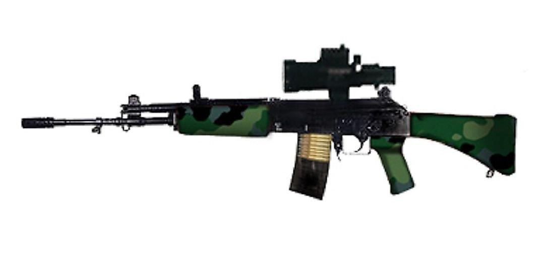 Service Rifles Of Armies Around The World