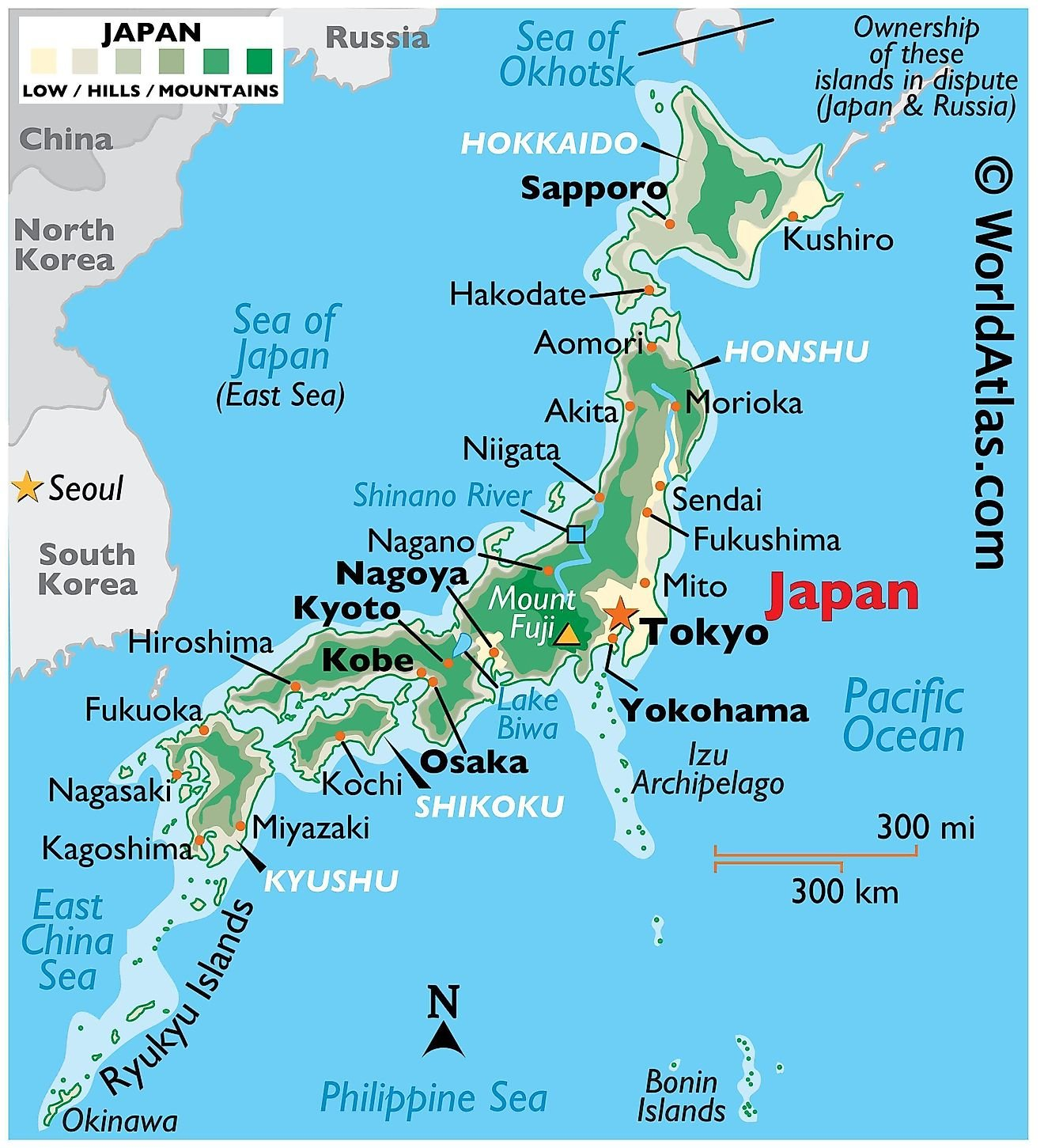 Japan Maps & Facts